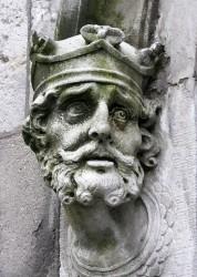 Brain Boru sculpture Chapel Royal Dublin Castle