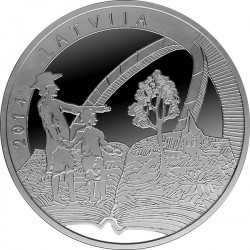 Latvia 2014. 5 Euro. Old Stenders