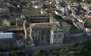 Real Monasterio de Santa Clara de Tordesillas air view