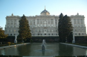 Royal Palace of Madrid, facade north