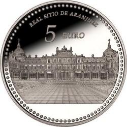 Spain 2014. 5 euro. Palacio Real de Aranjuez