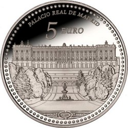 Spain 2014. 5 euro. Palacio Real de Madrid