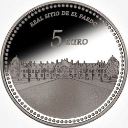 Spain 2014. 5 euro. Palacio Real de El Pardo