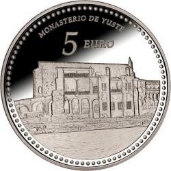 Spain 2014. 5 euro. Monasterio de Yuste