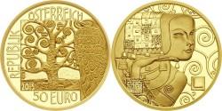 Austria 2013. 50 euro. Klimt