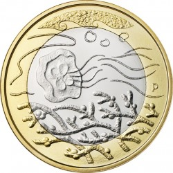Finland 2014. 5 euro. Waters