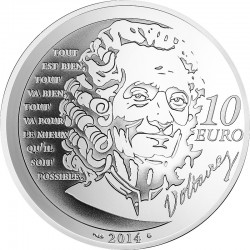 France 2014. 10 euro. Candide