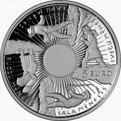 Latvia 2014. 5 euro. Seasons