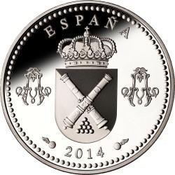 Spain 2014. 10 Euro. Aniversario del Real Colegio de Artillería