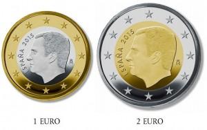 Spain euro coins 2015 Felipe VI
