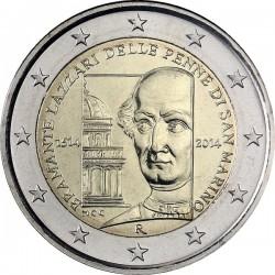 2 euro. San Marino 2014. Donato Bramante