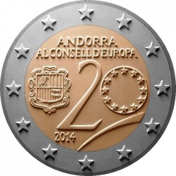 2 euro andorra Council of Europe