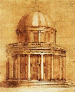 Bramante's designs for Saint Peter's Basilica