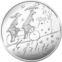 France 2014. 10 euro. Egalite automne