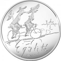 France 2014. 10 euro. Egalite ete