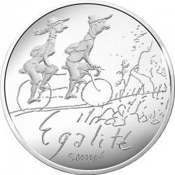 France 2014. 10 euro. Egalite printemps