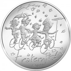 France 2014. 10 euro. Fraternite automne