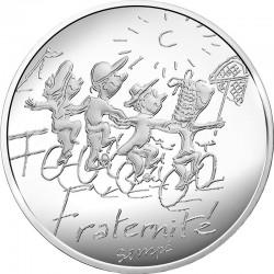 France 2014. 10 euro. Fraternite ete
