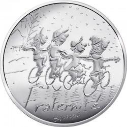 France 2014 10 euro Fraternite hiver