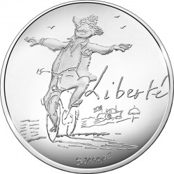 France 2014. 10 euro. Liberte ete