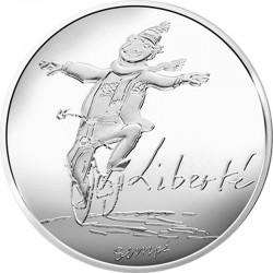 France 2014. 10 euro. Liberte hiver