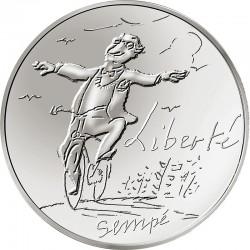 France 2014. 10 euro. Liberte printemps