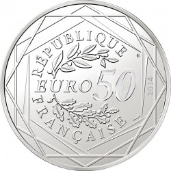 France 2014. 50 euro. Paix