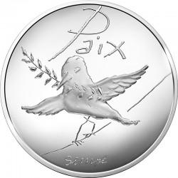 France 2014. 50 euro. Paix printemps-ete