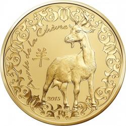 France 2015. 50 euro. Goat