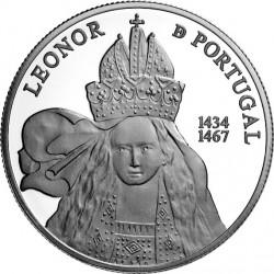 Portugal 2014. 5 euro. Leonor de Portugal. Ag 925