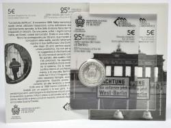 San Marino 2014 5 euro Berlino blister