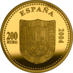 Spain 2004. 200 euro. Isabella I of Castile