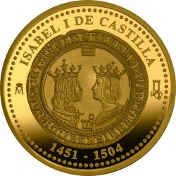 Spain 2004. 200 euro. Isabella I of Castile