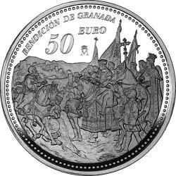 Spain 2004. 50 euro. Isabella I of Castile