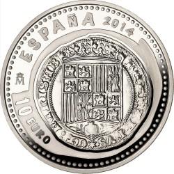 Spain 2014. 10 euro. Real
