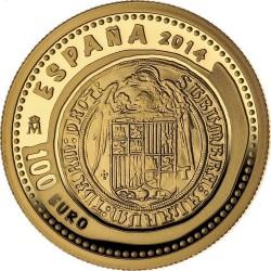 Spain 2014. 100 euro. Dos Excelentes