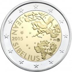 2 euro. Finland 2015. Jean Sibelius