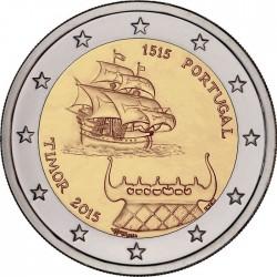 2 euro. Portugal 2015. Timor