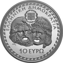 Greece 2014. 10 Euro. Euripides