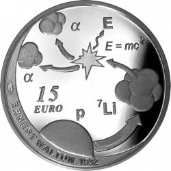 Irland 2015. 15 Euro. Ernest Walton