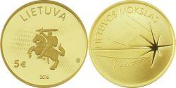 Lithuania 2016/ 5 euro/ fizika