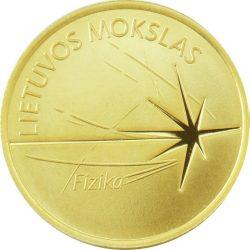 Lithuania 2016 5 euro fizika rev