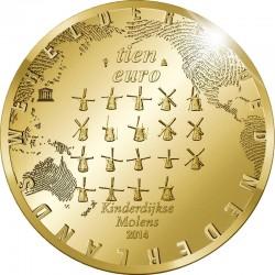 Netherland 2014. 10 Euro. Kinderdijk