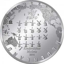 Netherland 2014. 5 Euro. Kinderdijk