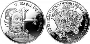 Portugal 2015 2.5 euro Isabel