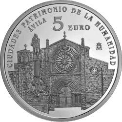 Spain 2014. 5 euro. Ávila