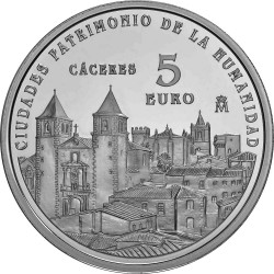 Spain 2014. 5 euro. Caceres
