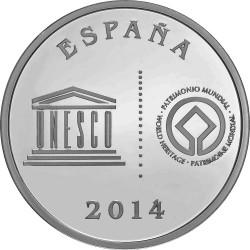 Spain 2014. 5 euro. Patrimonio