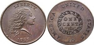 US penny 1793