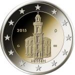 2 евро, Германия (Гессен)